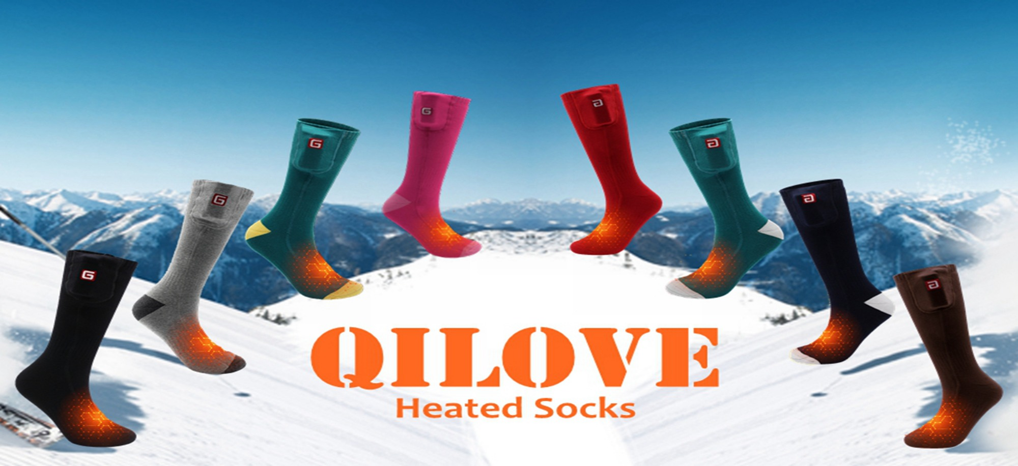 HEATED SCOKS FOR WINTER LIFE